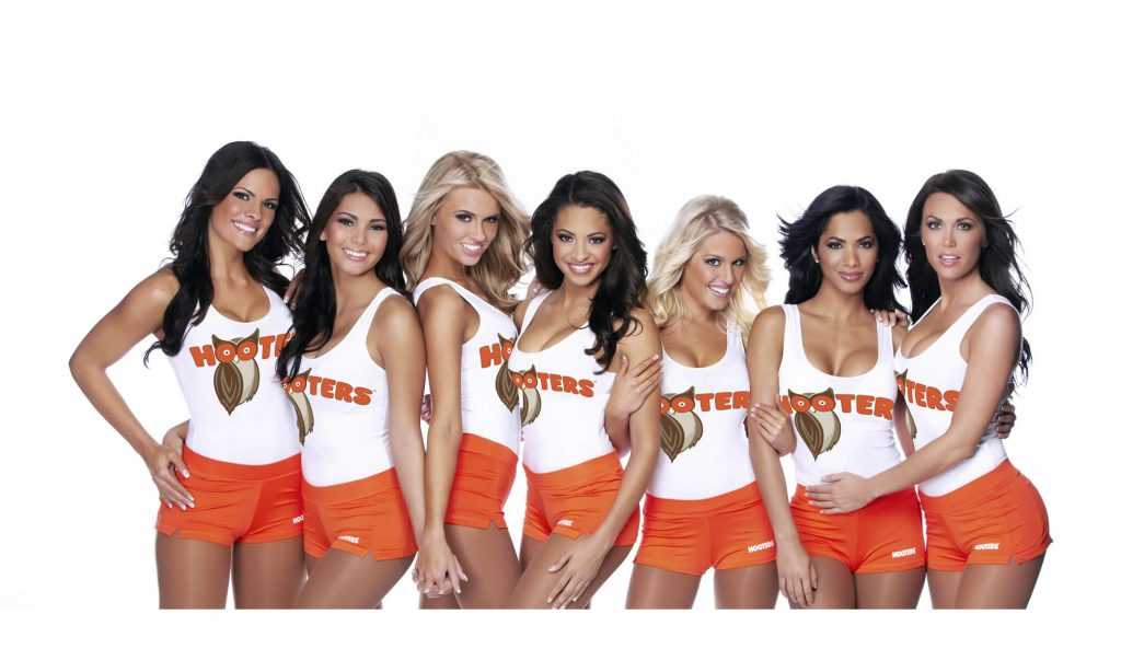 Southern califirnia Hooters Girls